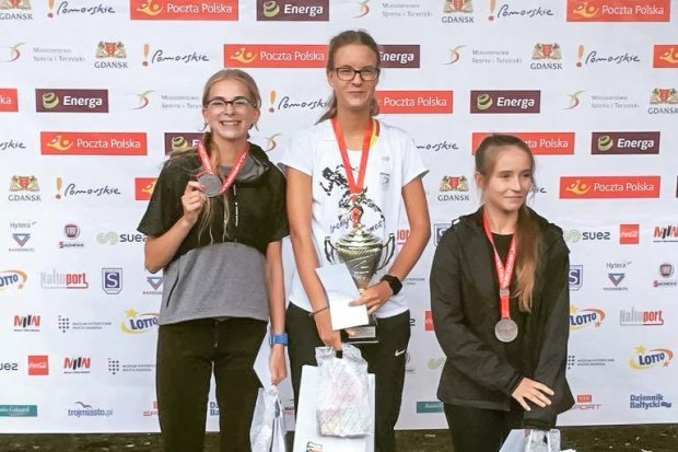 Marcelina Drozdek wicemistrzynią Polski w chodzie sportowym