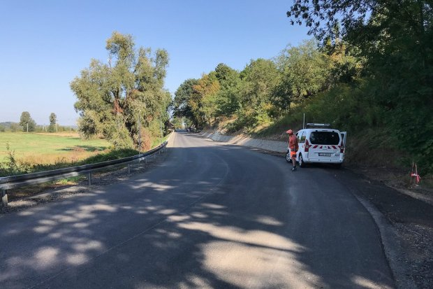 Droga na Lwówek przejezdna tylko dla mieszkańców Brunowa