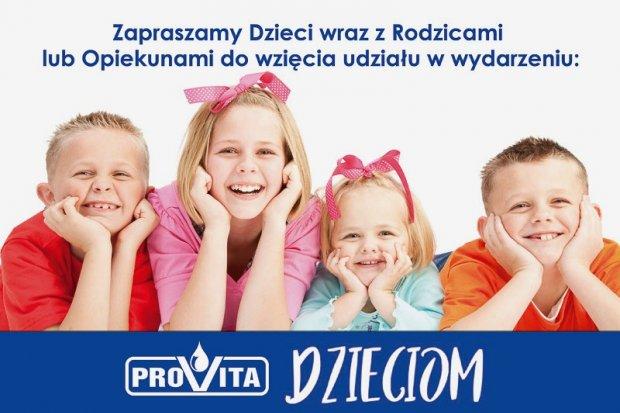 Bezpłatna akcja profilaktyczna Provita Dzieciom