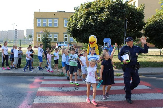 Uczyli dzieci jak bezpiecznie dotrzeć do szkoły