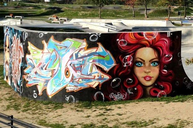 Graffiti na Wiadukt Plaza. Podoba się Wam?