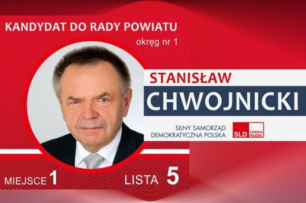 Stanisław Chwojnicki – kandydat do Rady Powiatu Bolesławieckiego