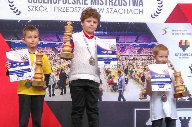 Gabriel Karaszewski zajął 1 miejsce w Ogólnopolskich Mistrzostwach w Szachach