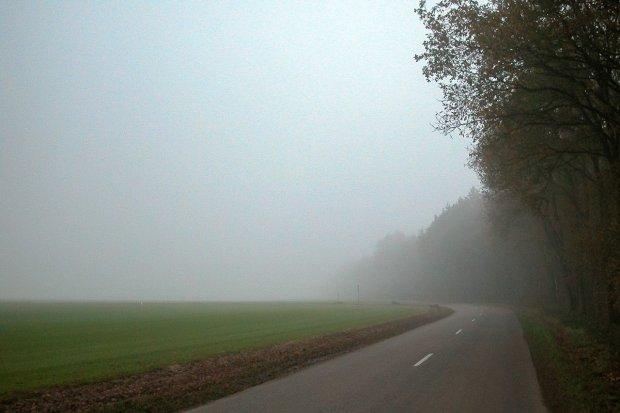 Uwaga! Możliwa silna mgła