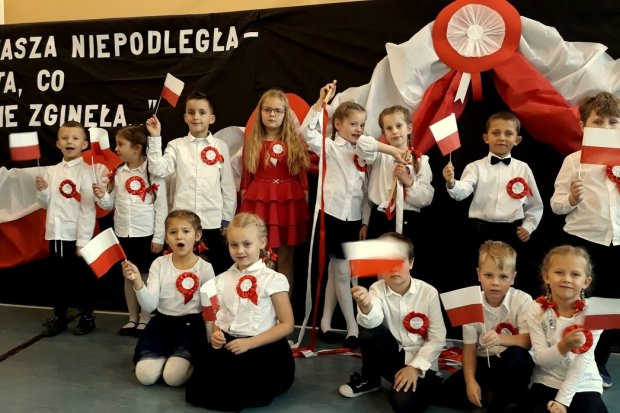 Obchody odzyskania niepodległości przez Polskę w Szkole Podstawowej nr 3