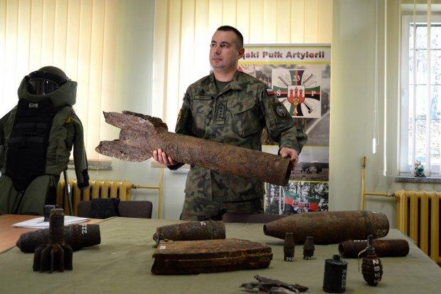 Saperzy przekazali Muzeum… pociski z czasów II wojny światowej