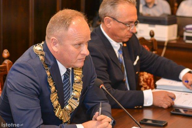 Jarosław Kowalski pożegnał się z radnymi Rady Miasta Bolesławiec