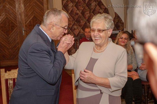 Państwo Lisiewiczowie świętowali 50-lecie małżeństwa