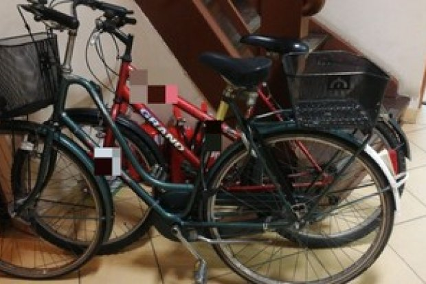 """Ukradł rower z garażu. """"Na pocieszenie"""" zostawił… dwa inne. Też kradzione"""