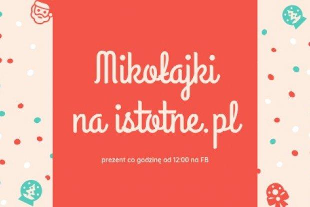 Prezenty na mikołajki od istotne.pl