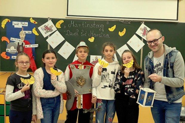 Dzień świętego Marcina w Szkole Podstawowej nr 3