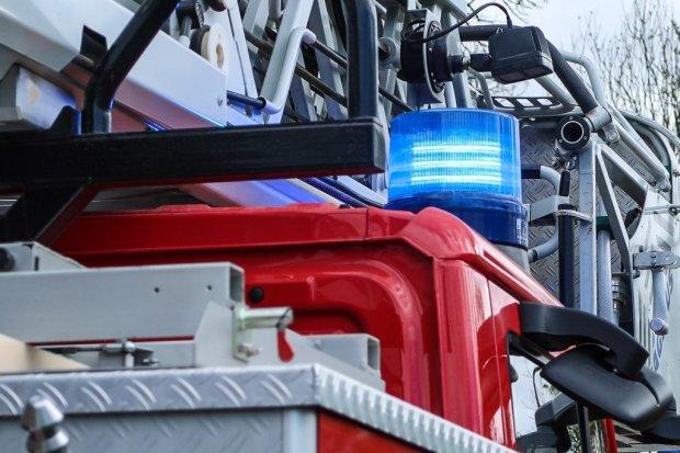 Akcja strażaków na Kościuszki, znaleźli zwłoki mężczyzny