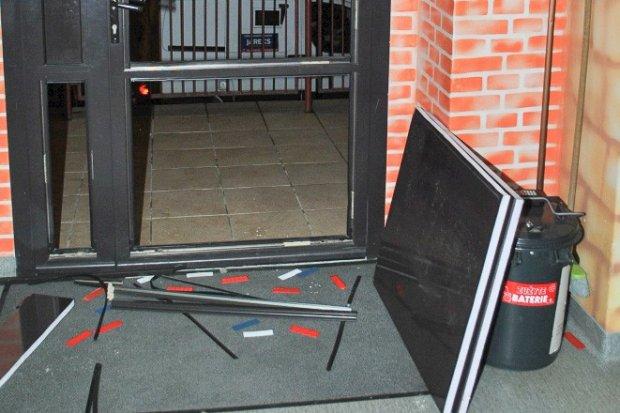42-latek po pijaku rozwalił drzwi. Chciał się w święta dostać do… podstawówki