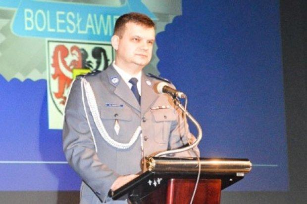 Nowy komendant policji w Bolesławcu