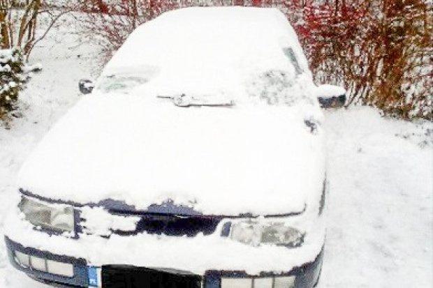 Strażnicy miejscy odnaleźli skradzionego volkswagena