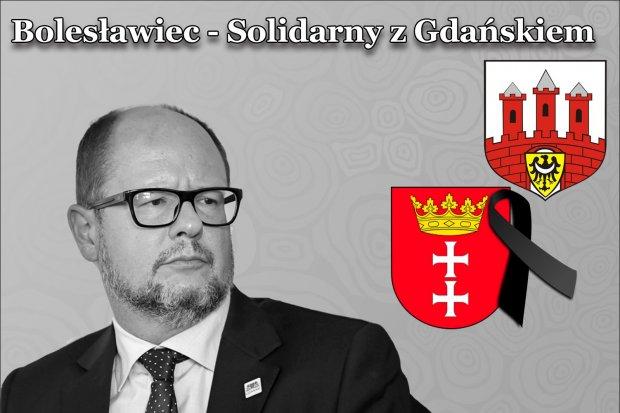 Bolesławiec solidarny z Gdańskiem. Pożegnajmy prezydenta Adamowicza