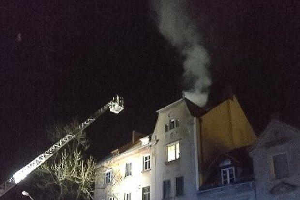 Pożar na Polnej, czyli… niecodzienna kontrola straży miejskiej