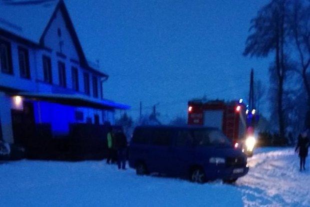 Pożar w Raciborowicach. Nikt nie został ranny