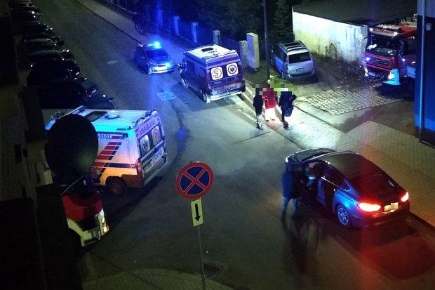 Tlenek węgla w budynku przy Polnej. Jedna osoba przewieziona do szpitala