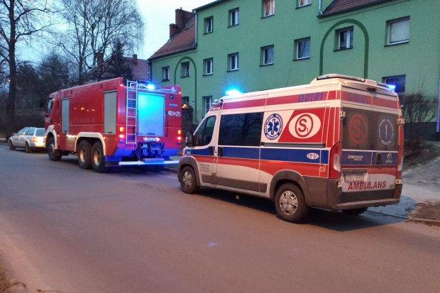 Zatrucie tlenkiem węgla na Murarskiej. Dwie osoby trafiły do szpitala