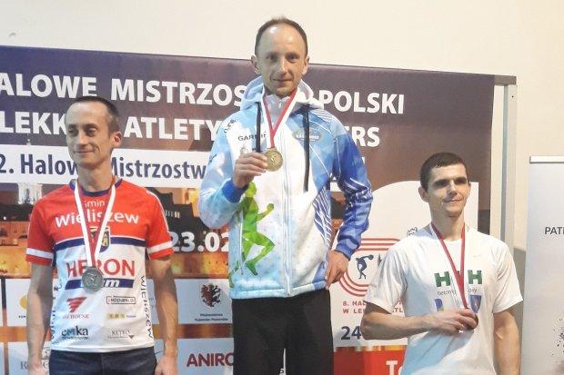 Kamil Makoś halowym mistrzem Polski w biegu na 3000 m