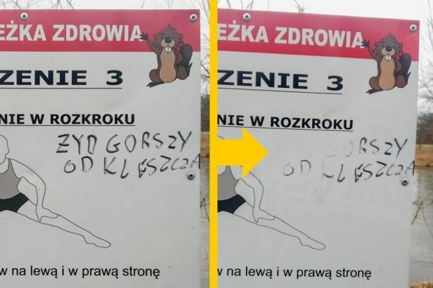 Bolesławianie pięknie zareagowali na antysemityzm