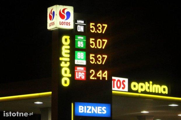 Ceny paliw w Bolesławcu wciąż na rekordowym poziomie