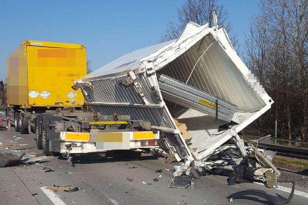 Wypadek na A4. Służby miały problem z dojazdem, kierowcy nie utworzyli korytarza życia