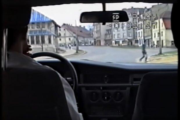 Zobacz na wideo, jak wyglądał Bolesławiec 28 lat temu