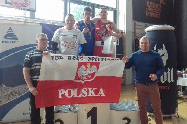 Piotr Motyka zwycięzcą Turnieju Bokserskiego, pokonał Zeusa