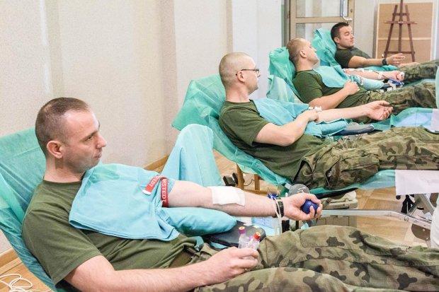 Pancerniacy oddali krew