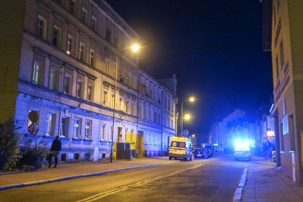 Nie postrzelenie, ale wypadek na Gdańskiej. Agresywny mężczyzna zatrzymany