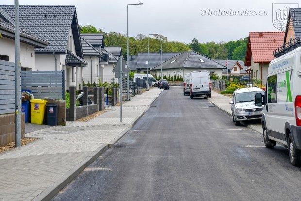 Pierwszy etap budowy drogi przy Jagiellonów zakończony