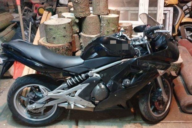 Policjanci odzyskali motocykl o wartości 12 tys. złotych
