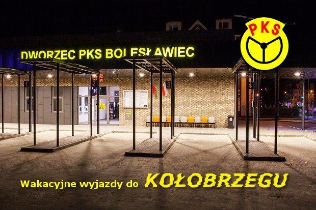 Na wakacje do Kołobrzegu z PKS Bolesławiec