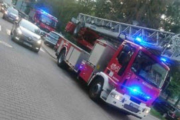 Akcja strażaków przy ul. Parkowej