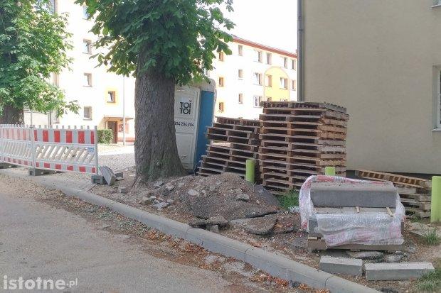 Co z parkingiem przy Słowackiego?