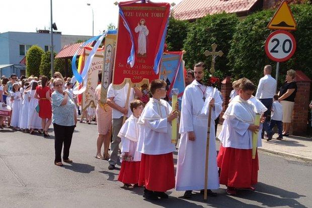 Procesje Bożego Ciała w Bolesławcu