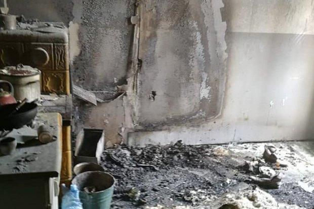 Pożar przy Sienkiewicza w Nowogrodźcu. Mężczyzna podtruł się dymem