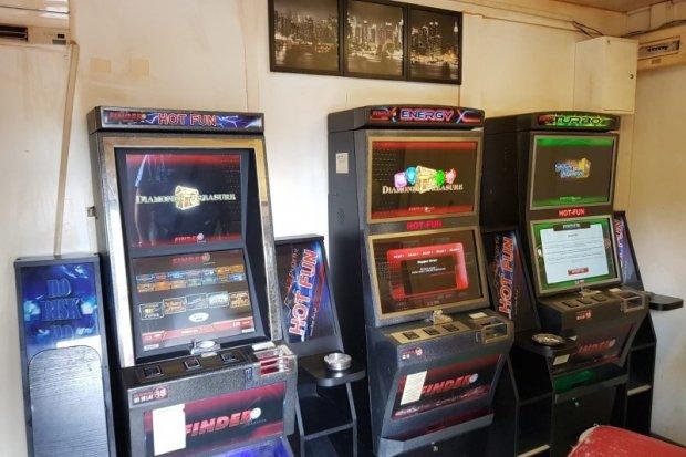 Zlikwidowali nielegalny salon gier w gminie Gromadka