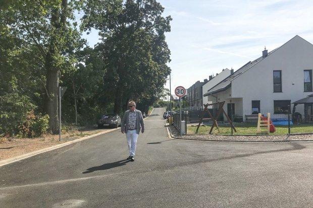 Powstała nowa droga przy ulicy Kresów II RP