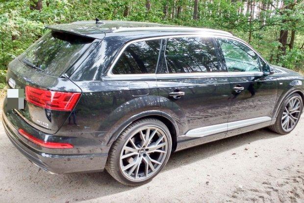 Policjanci z Kruszyna odzyskali luksusowe audi. Skradziono je w Niemczech