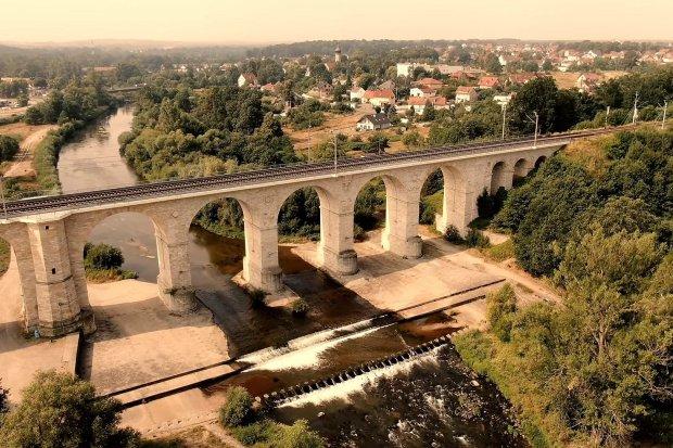 Bolesławiecki wiadukt można podziwiać bez końca