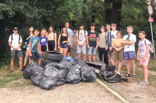 Młodzi bolesławianie zebrali ponad pół tony śmieci!