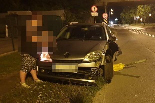 Policjant po służbie zatrzymał pijaną kierująca