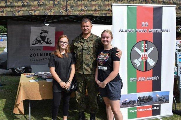 Bolesławieccy artylerzyści na Święcie Wojska Polskiego w Jaworze