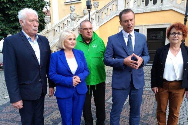 Wybory 2019: Kozakiewicz, Czernow, Borys, Baranowska, Bartkowiak w Bolesławcu