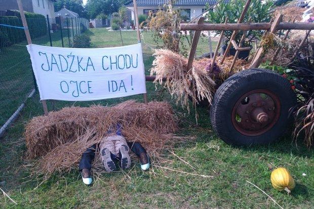 Zobaczcie dekoracje dożynkowe w Bolesławicach