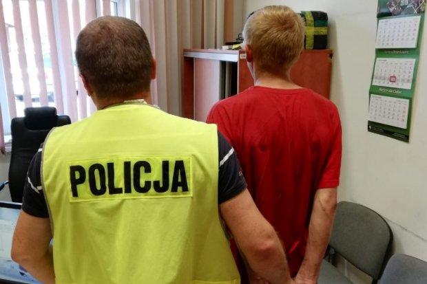 Policjanci z Kruszyna odzyskali telefon i zatrzymali sprawcę kradzieży