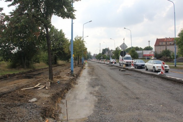 Ulica Leszczyńska w przebudowie. Jak przebiegają prace?